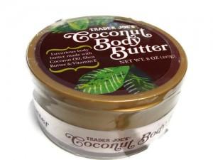 TJs coconut body butter