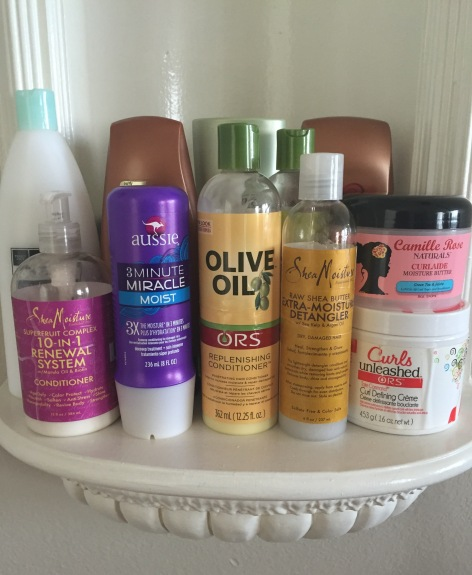 MY STAPLE DRUGSTORE HAIR PRODUCTS| Moments with Millie