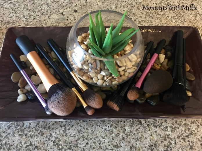 How I Clean My Makeup Brushes   Makeup with Millie